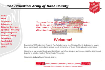 Salvation Army of Dane County